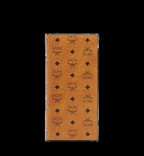 Portefeuille long à deux volets en Visetos Original