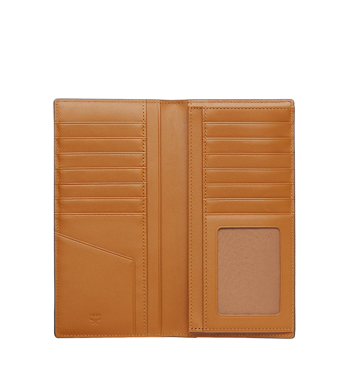MCM Original lange gefaltete Brieftasche in Visetos Cognac MXL8SVI70CO001 Alternate View 4