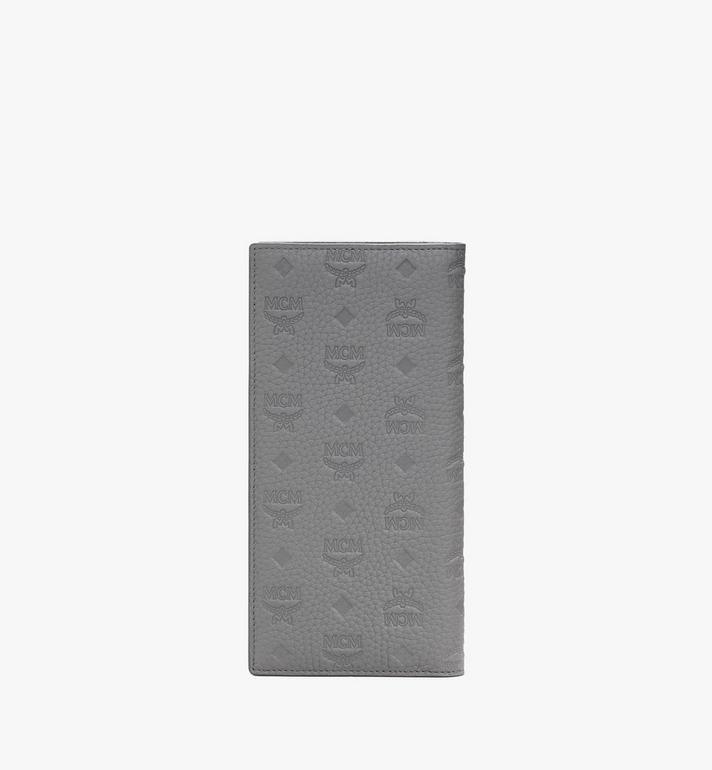 MCM Tivitat Bifold Wallet in Monogram Leather Grey MXL9ABT22FK001 Alternate View 2