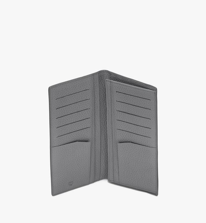 MCM Tivitat Bifold Wallet in Monogram Leather Grey MXL9ABT22FK001 Alternate View 3