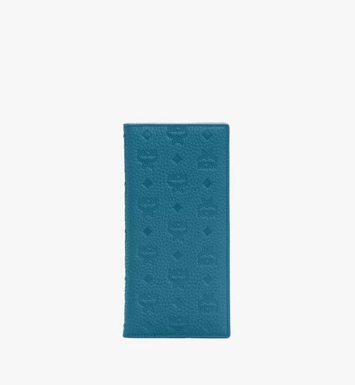 花押字圖案皮革的 Tivitat 雙折錢包