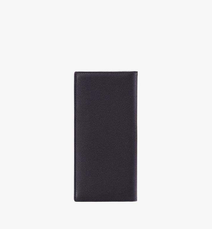 MCM Coburg Large Two-Fold Wallet Black MXL9ACE21BK001 Alternate View 2