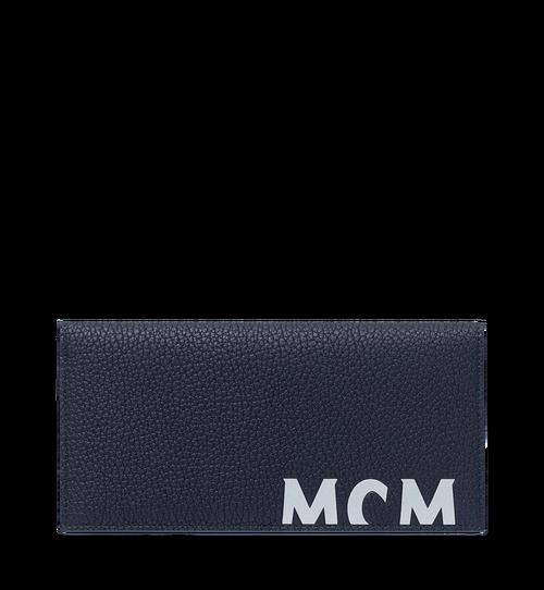 Logo 印花皮革兩折式錢包