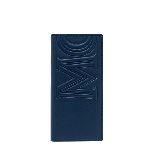 Long Bifold Wallet in MCM Injection Logo