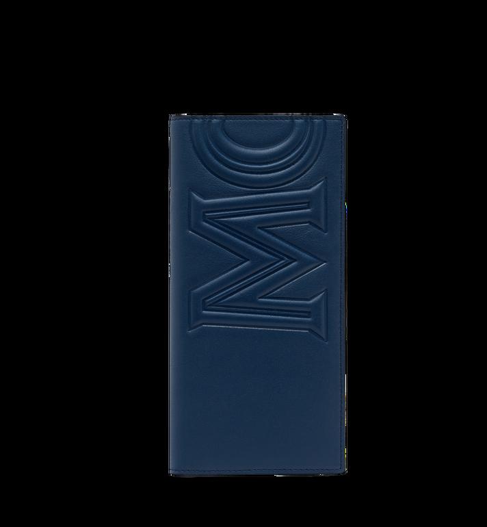 MCM Long Bifold Wallet in MCM Injection Logo Alternate View