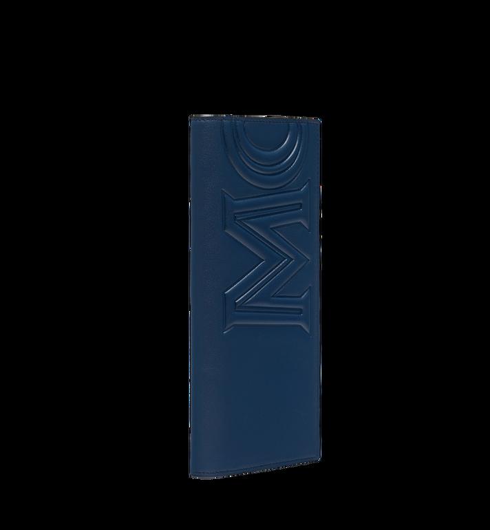 MCM Long Bifold Wallet in MCM Injection Logo Navy MXL9SCL01VA001 Alternate View 2