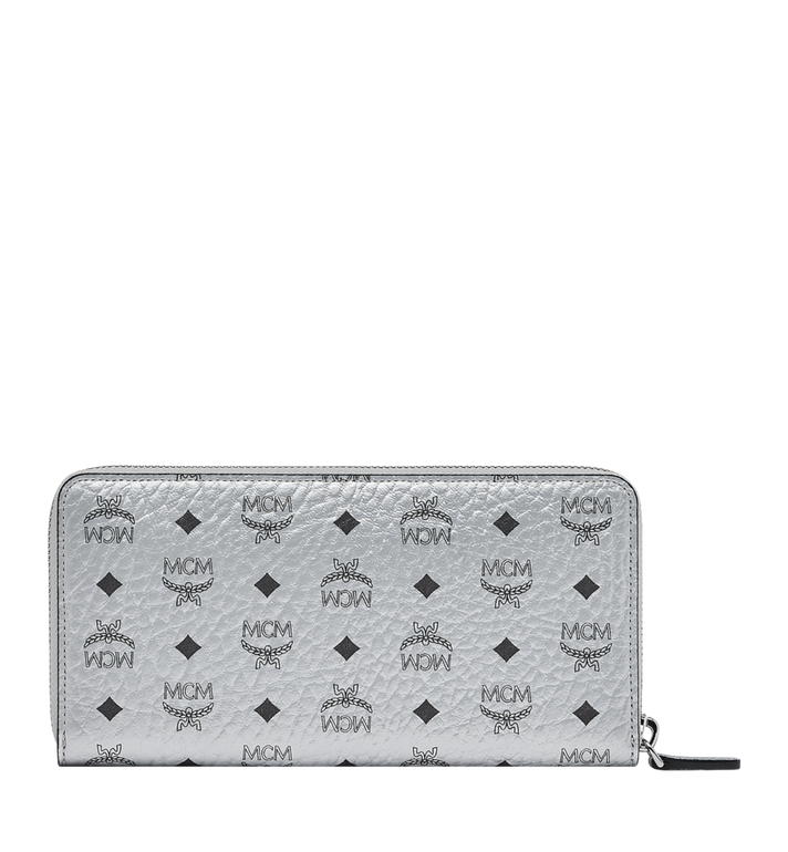 MCM Zip Around Wallet in Visetos Original Alternate View 3