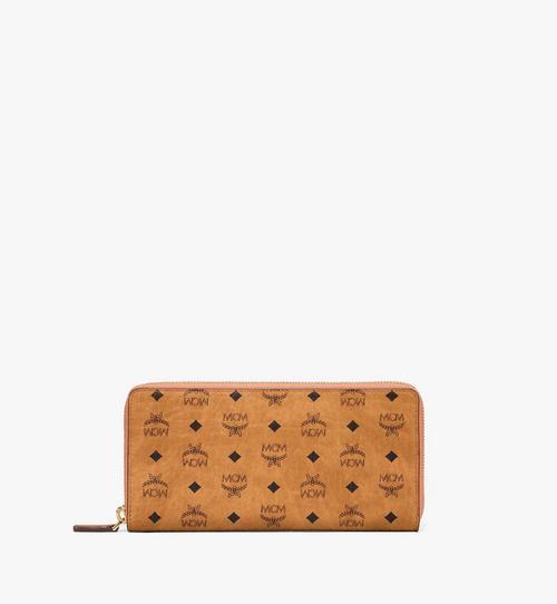 กระเป๋าสตางค์ติดซิปรอบลาย Visetos Original