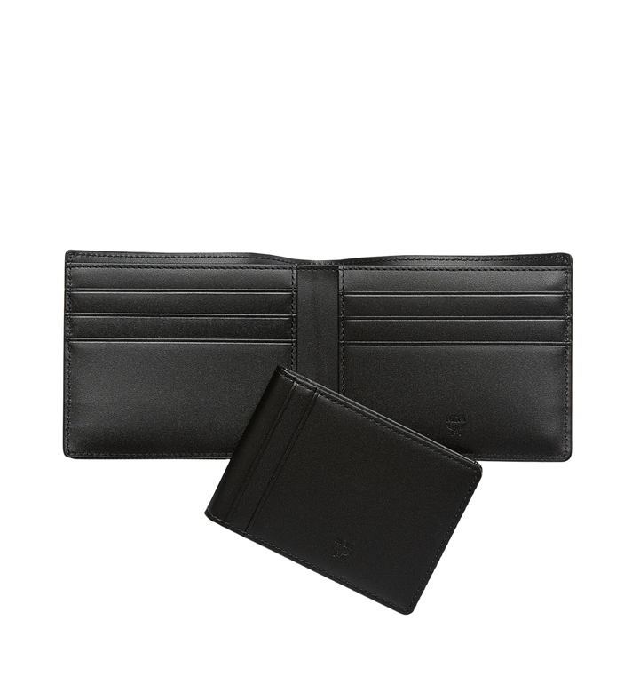 MCM Ottomar gefaltete Brieftasche aus gemasertem Leder Alternate View 5