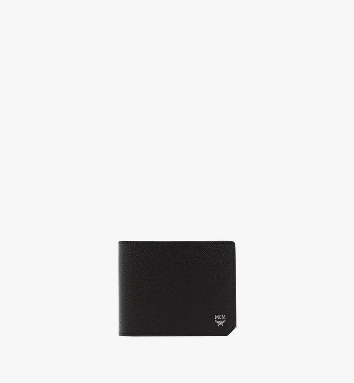MCM New Bric 經典印花皮革兩折式錢包附卡夾 Alternate View