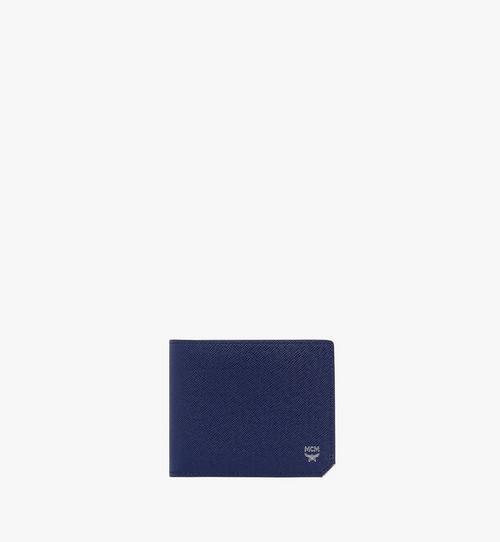 New Bric 經典壓花皮革兩折式皮夾附卡夾