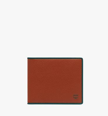Coburg Bifold Wallet in Tipped Leather