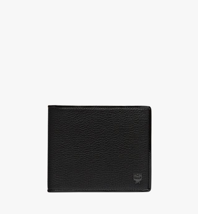 Coburg Bifold Coin Wallet in Tipped Leather