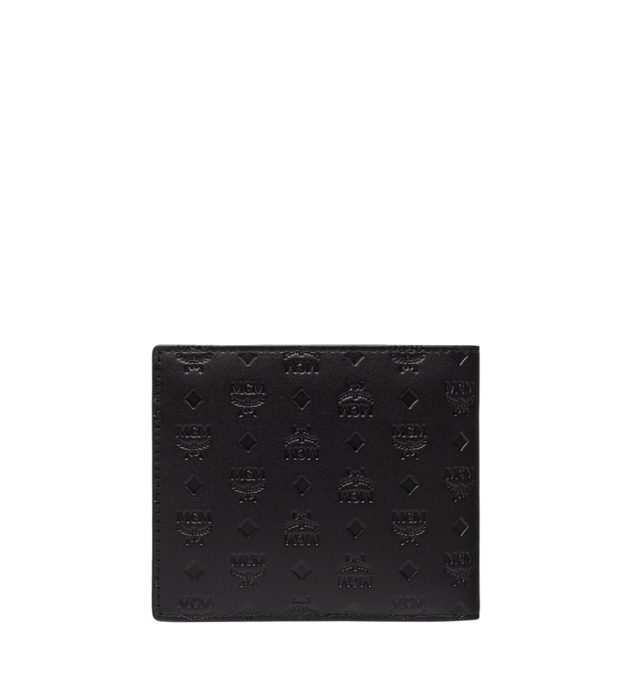 MCM Sigmund Bifold Wallet in Monogram Leather Alternate View 3