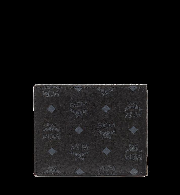 MCM Claus gefaltete Brieftasche in Visetos Black MXS8SVI35BK001 Alternate View 3