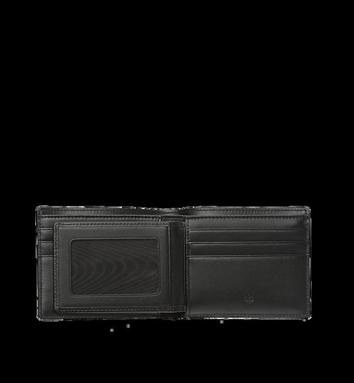 MCM Claus gefaltete Brieftasche in Visetos Black MXS8SVI35BK001 Alternate View 4