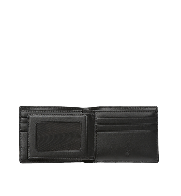 MCM Claus กระเป๋าสตางค์พับสองทบลาย Visetos Black MXS8SVI35BK001 Alternate View 4