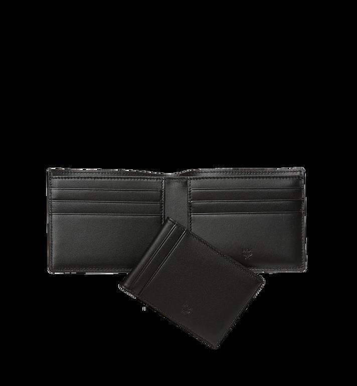 MCM Claus gefaltete Brieftasche in Visetos Black MXS8SVI35BK001 Alternate View 5