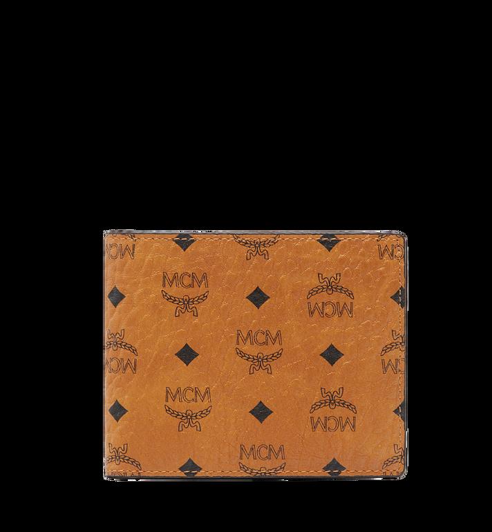 MCM กระเป๋าสตางค์พับสองทบ Claus ลาย Visetos Alternate View