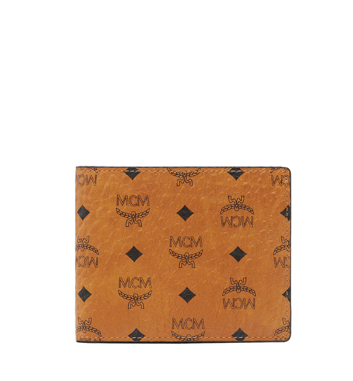 MCM Claus Bifold Wallet in Visetos Alternate View
