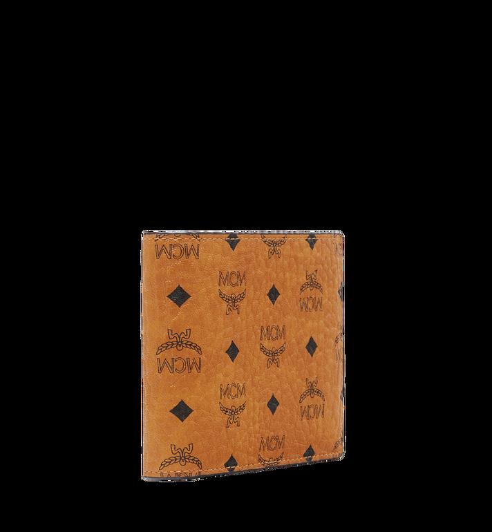 MCM กระเป๋าสตางค์พับสองทบ Claus ลาย Visetos Cognac MXS8SVI35CO001 Alternate View 2
