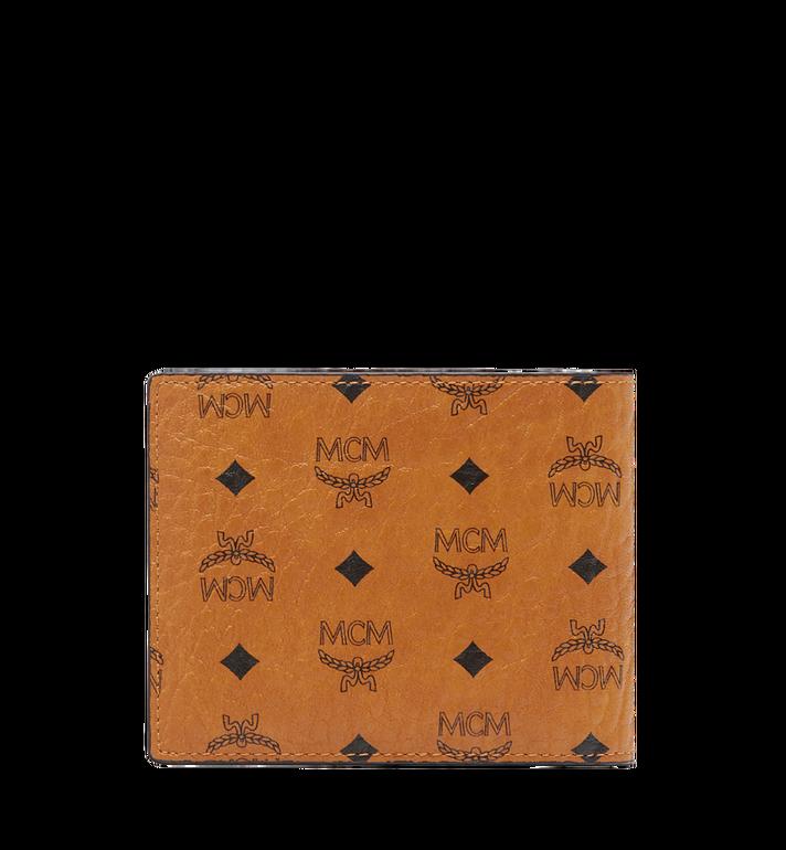 MCM กระเป๋าสตางค์พับสองทบ Claus ลาย Visetos Cognac MXS8SVI35CO001 Alternate View 3