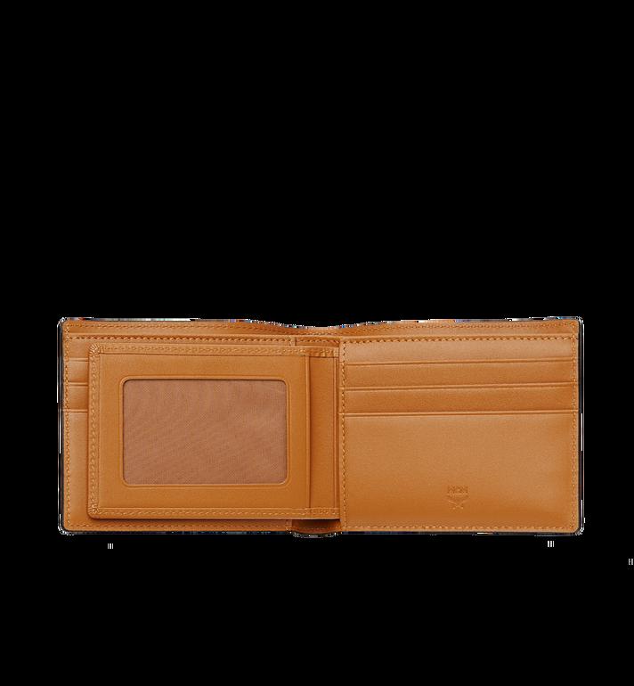 MCM กระเป๋าสตางค์พับสองทบ Claus ลาย Visetos Cognac MXS8SVI35CO001 Alternate View 4