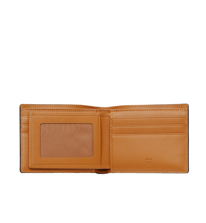 MCM Claus Bifold Wallet in Visetos Cognac MXS8SVI35CO001 Alternate View 4