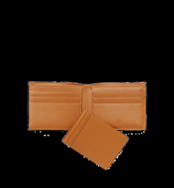 MCM กระเป๋าสตางค์พับสองทบ Claus ลาย Visetos Cognac MXS8SVI35CO001 Alternate View 5
