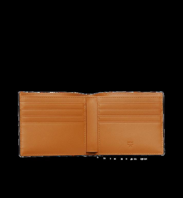 MCM Bifold Wallet in Visetos Original Cognac MXS8SVI63CO001 Alternate View 4