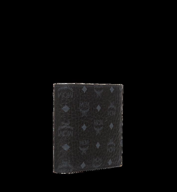 MCM Bifold Coin Wallet in Visetos Original Black MXS8SVI66BK001 Alternate View 2