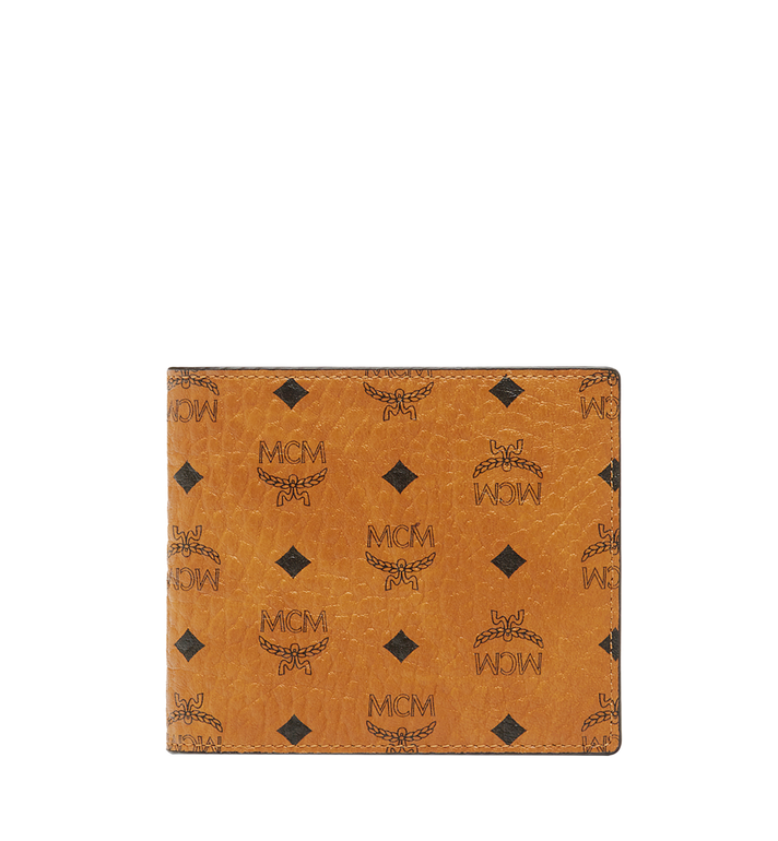 MCM Bifold Coin Wallet in Visetos Original Alternate View