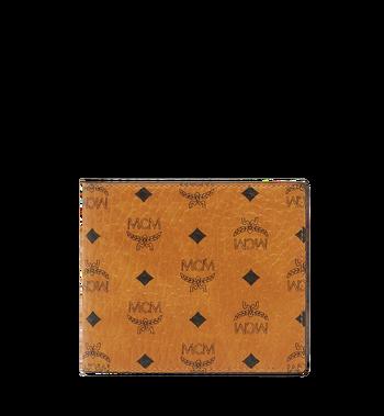 MCM Original gefaltete Brieftasche in Visetos Alternate View