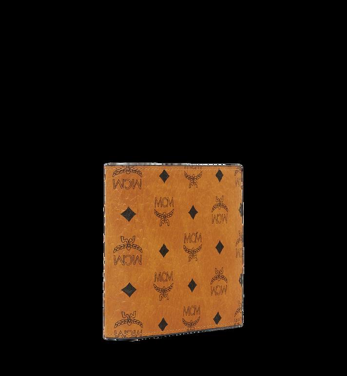 MCM Original gefaltete Brieftasche in Visetos Cognac MXS8SVI66CO001 Alternate View 2