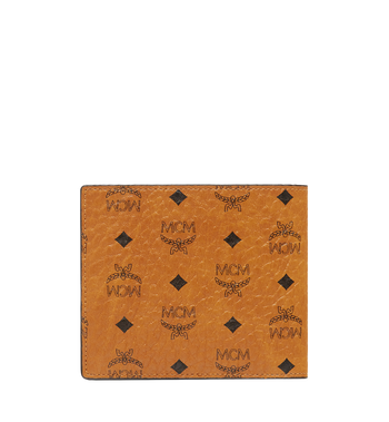 MCM Original gefaltete Brieftasche in Visetos Alternate View 3