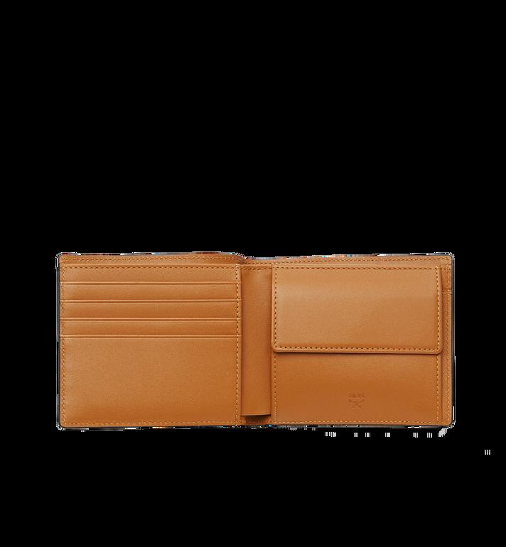 MCM Original gefaltete Brieftasche in Visetos Cognac MXS8SVI66CO001 Alternate View 4