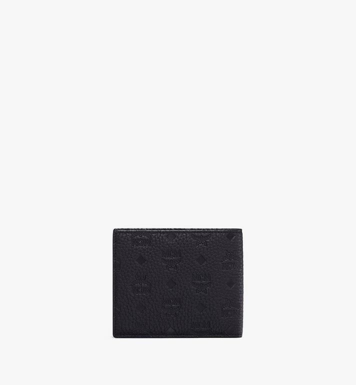 MCM 組合圖案皮革的 Tivitat 雙折錢包 Black MXS9ABT23BK001 Alternate View 2