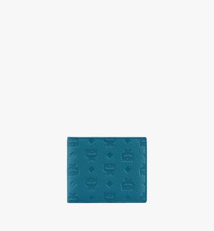 MCM 組合圖案皮革的 Tivitat 雙折錢包 Alternate View