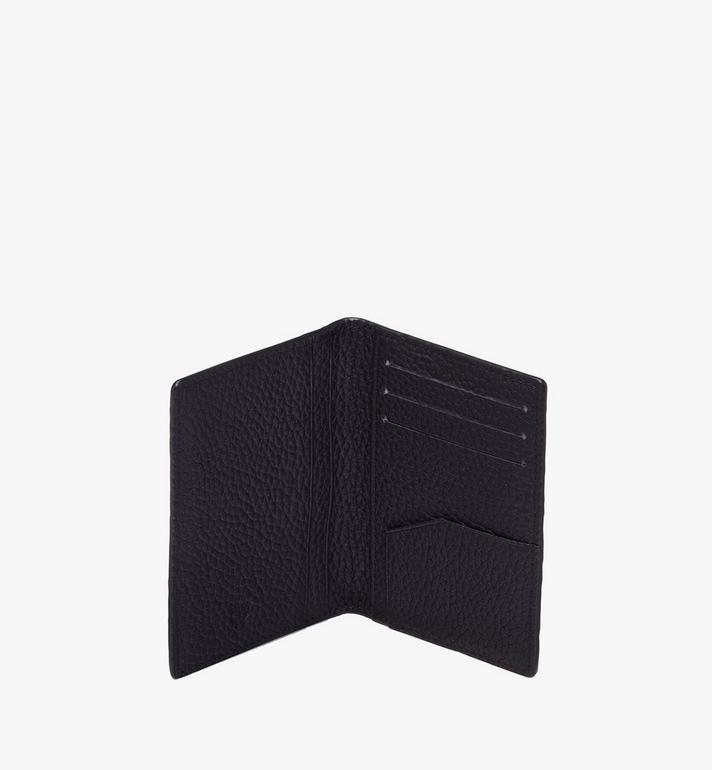 MCM Tivitat Two-Fold Wallet in Monogram Leather Black MXS9ABT25BK001 Alternate View 4