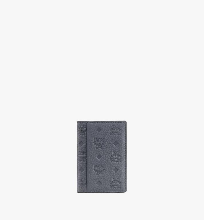 MCM กระเป๋าสตางค์มินิพับสองทบวัสดุหนัง Tivitat Grey MXS9ABT25FK001 Alternate View 2