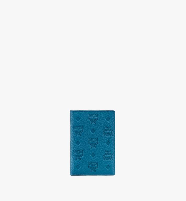 MCM Tivitat Mini Bifold Wallet in Monogram Leather Alternate View
