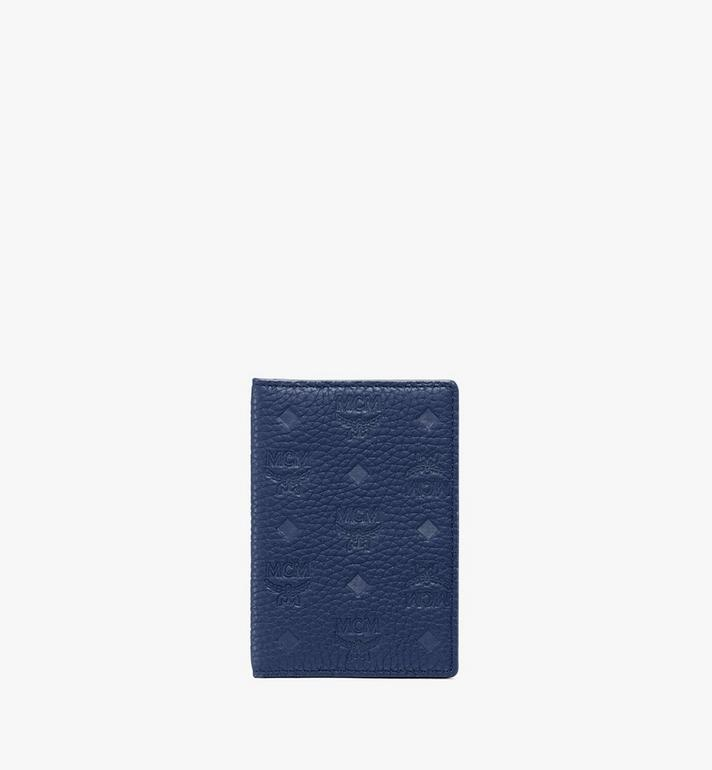 MCM Tivitat Two-Fold Wallet in Monogram Leather Alternate View