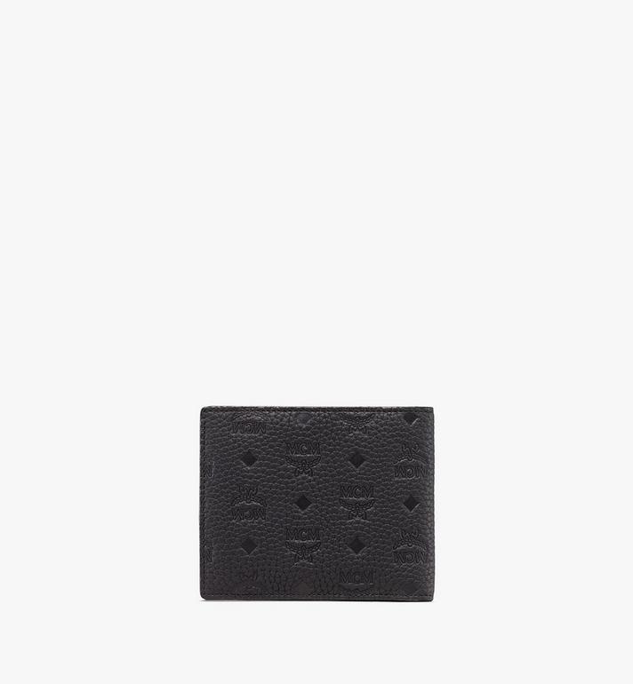 MCM Tivitat Bifold Wallet in Monogram Leather Brown MXS9ABT29BK001 Alternate View 2