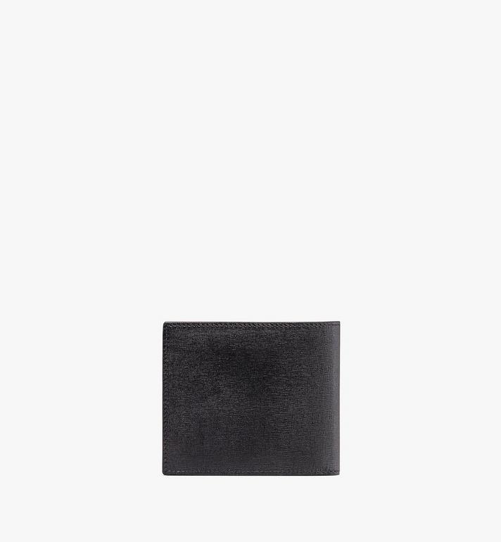 MCM Coburg Bifold Wallet in Crossgrain Leather Black MXS9ACE12BK001 Alternate View 2