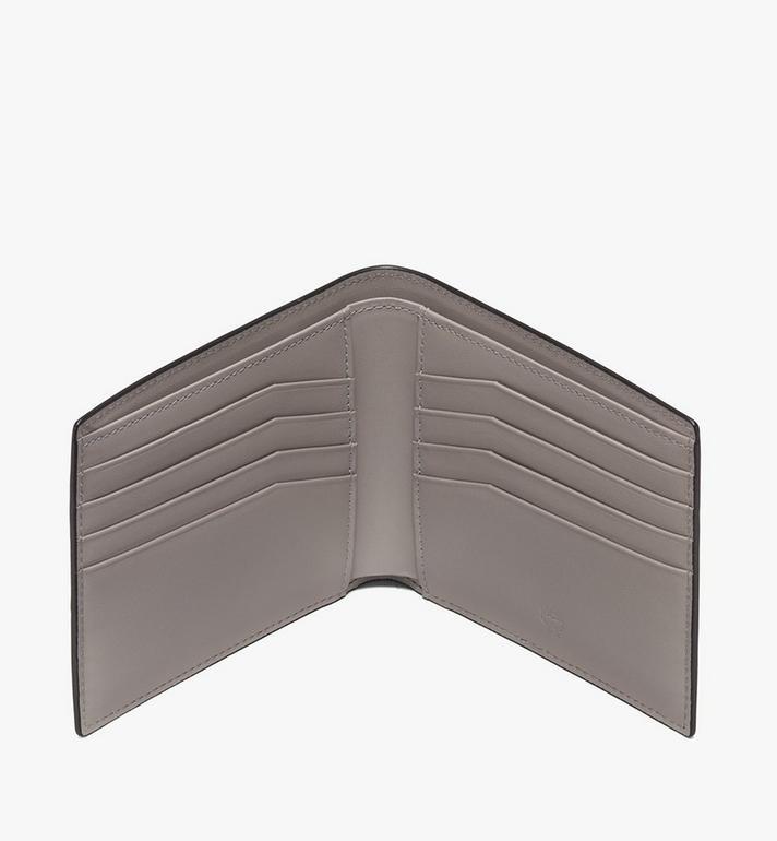 MCM Coburg Bifold Wallet in Crossgrain Leather Black MXS9ACE12BK001 Alternate View 3
