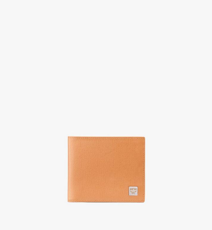 MCM Coburg Bifold Wallet in Crossgrain Leather Alternate View
