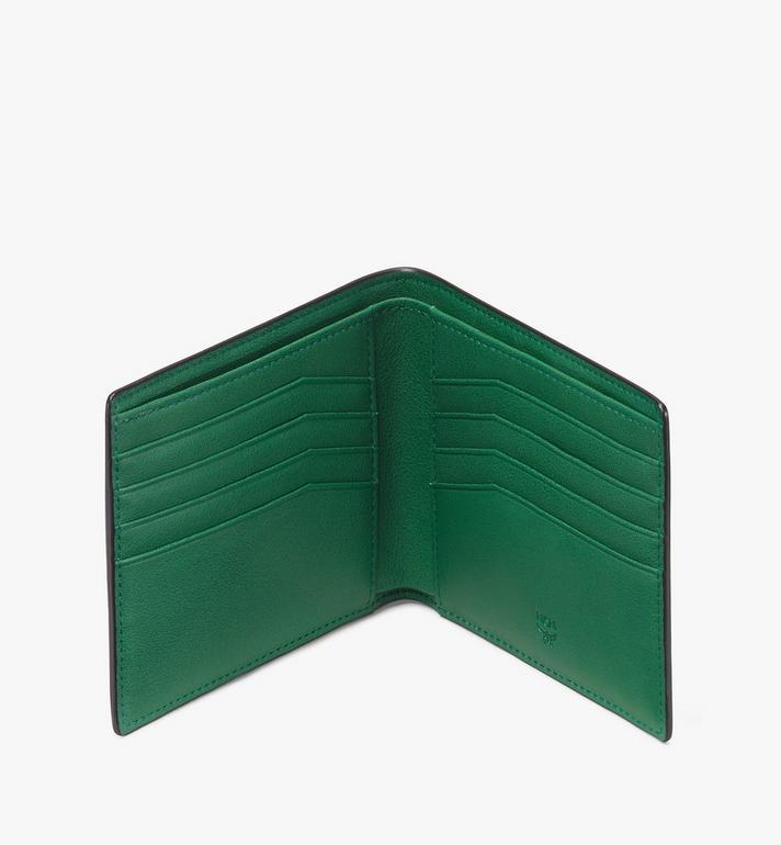MCM Coburg Bifold Wallet Black MXS9ACE22BK001 Alternate View 3