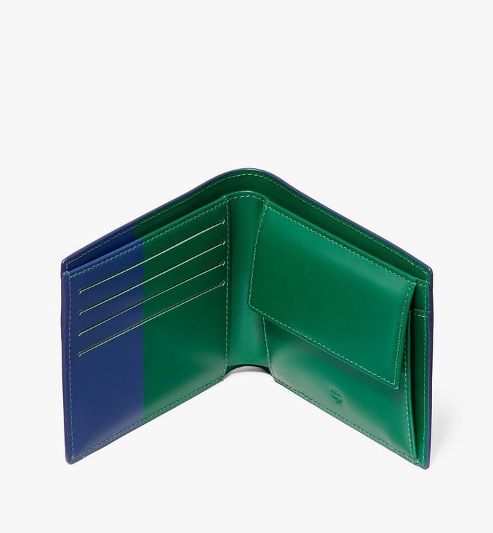 MCM Gefaltete, geprägte Brieftasche in Lion Camo  MXS9AES17VE001 Alternate View 3