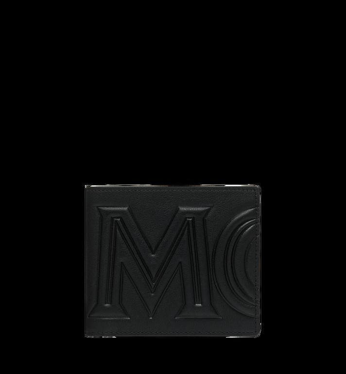 MCM กระเป๋าสตางค์พับสองทบลาย MCM Injection Logo Alternate View