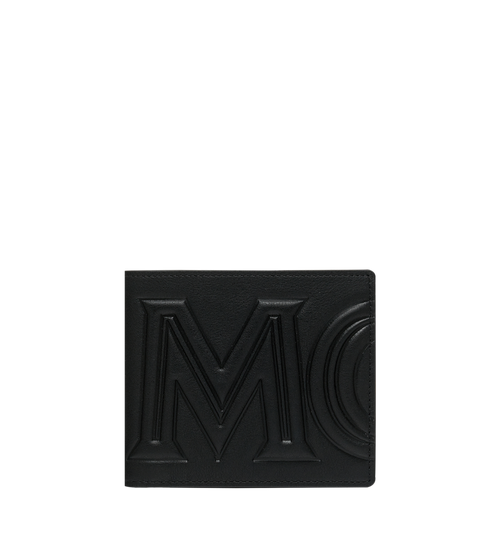 Bifold Wallet in MCM Injection Logo
